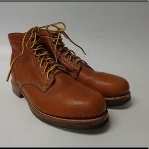 MENS WOLVERINE LEATHER BOOTS